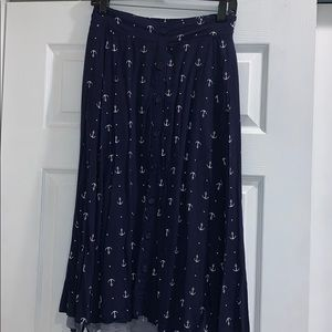 Anchor Midi Chalice Skirt